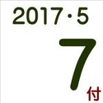 2017.05.07付け「編集手帳」要約