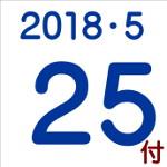 2018.05.25付け「編集手帳」要約